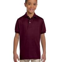 Jerzees Youth 5.6 oz., 50/50 Jersey Polo with SpotShield™
