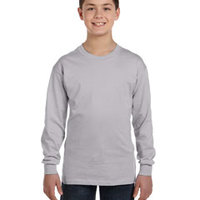 Gildan Heavy Cotton™ Youth 5.3 oz. Long-Sleeve T-Shirt