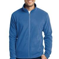 Port & Co. Full Zip Microfleece Jacket