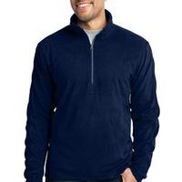 Port & Co. Microfleece 1/2 Zip Pullover