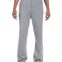 8 oz., 50/50 NuBlend® Open-Bottom Sweatpants