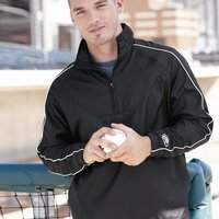Quarter-Zip Micro Poly Pullover