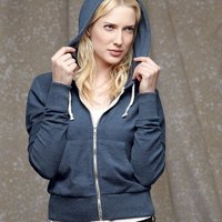 Women's French Terry Hooded Full-Zip