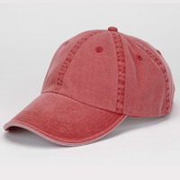 Solid Low-Profile Sandwich Trim Twill Cap