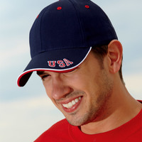 Cotton Twill National Cap