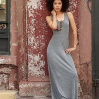 Women's Eco-Jersey Maxi Dress