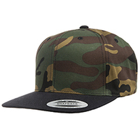 Yupoong 6-Panel Structured Flat Visor Classic Snapback