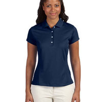Ladies' climalite® Texture Solid Polo