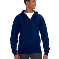 J America Premium Full-Zip Fleece Hoodie