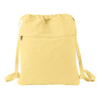 14 oz. Pigment-Dyed Canvas Cinch Sack