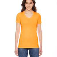 American Apparel Ladies' Poly-Cotton Tee