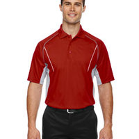 Eperformance™ Men's Parallel Snag Protection Polo with Piping