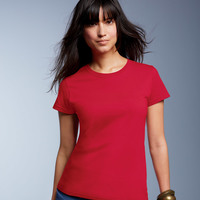 Ladies' Midweight Mid-Scoop Tee