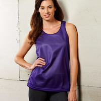 Ladies' Reversible Mesh Tank