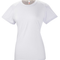 Ladies' Spun Poly Tee