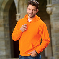 J.America Adult Tailgate Poly Hooded Fleece