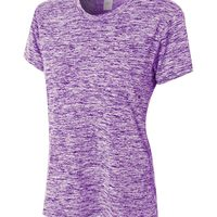 Ladies' Space Dye Tech Tee