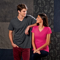 Fruit of the Loom Adult Sofspun® V-Neck T-Shirt