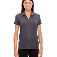 Ladies' Maze Performance Stretch Embossed Print Polo