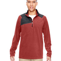 Men's Excursion Trail Fabric-Block Fleece Half-Zip