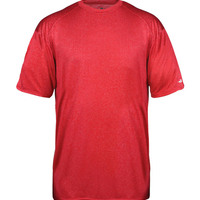 Badger Youth Pro Heather Short-Sleeve Tee