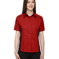 Ladies' Fuse Colorblock Twill Shirt