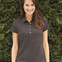 IZOD Women's Heather Jersey Sport Shirt