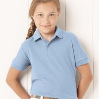 Youth Easy Care Pique Sport Shirt