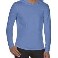Adult 6.1 oz. Long-Sleeve Hooded T-Shirt