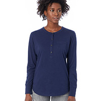 Ladies' Organic Pima Cotton Donna Henley