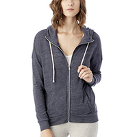 Ladies' Cool Down Eco-Jersey Zip Hoodie