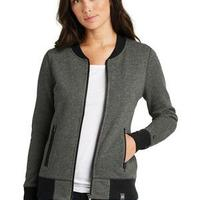 ® Ladies French Terry Baseball Full Zip