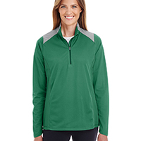 Ladies' Command Colorblock Snag Protection Quarter-Zip
