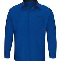 Men's Performance Plus Shop Shirt with Oilblok Technology Long Sleeves