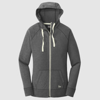 ® Ladies Sueded Cotton Full Zip Hoodie