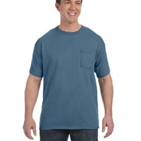 Hanes 6.1 oz. Tagless® ComfortSoft® Pocket T-Shirt