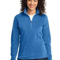 Port & Co. Ladies Microfleece 1/2 Zip Pullover