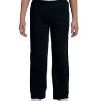 Gildan Youth  7.75 oz. Heavy Blend™ 50/50 Open-Bottom Sweatpants