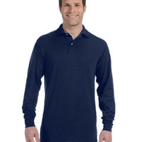 Adult 5.6 oz., SpotShield™ Long-Sleeve Jersey Polo