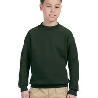 Youth 9.5 oz., 50/50  Super Sweats® NuBlend® Fleece Crew
