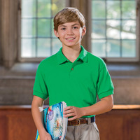 ® DryBlend® Youth Jersey Polo