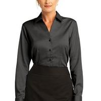 Ladies French Cuff Non Iron Pinpoint Oxford Shirt