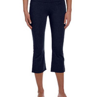 Bella + Canvase Ladies' Cotton/Spandex Capri