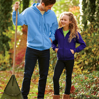 ® Heavy Blend™ Youth Full-Zip Hooded Sweatshirt