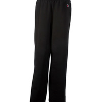 Youth Double Dry Eco® Open-Bottom Fleece Pants