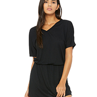 Ladies' Flowy V-Neck Dress