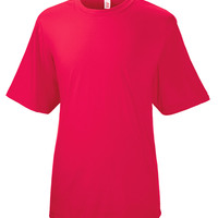Adult Spun Poly Tee