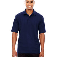 Edry® Men's Needle-Out Interlock Polo