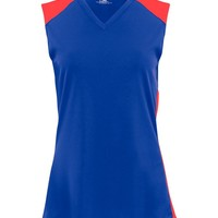 "B-Core Girls ""Speedster"" Color Block Athletic Jersey"