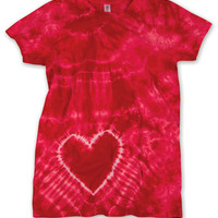 Dyenomite Juniors' Heart Tee